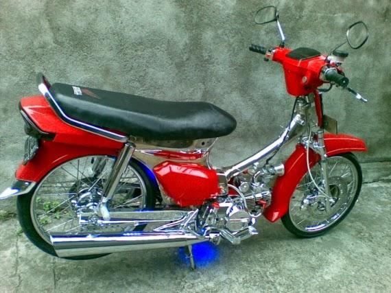 Kloningan Honda Astrea Prima Ingin Gahar Ketempelan Kaki Cbr150r