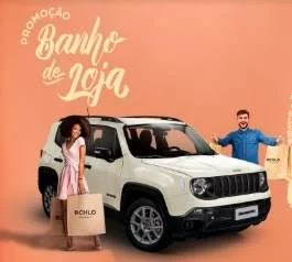 Cadastrar Promoção Banho de Loja Riachuelo - Jeep Renegade e 200 Vales-Compras 500 Reais