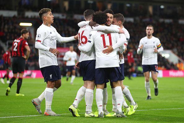 Bournemouth 0-3 Liverpool premier league highlight