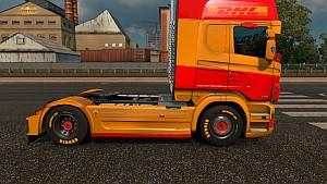 Yellow Runner Tires
