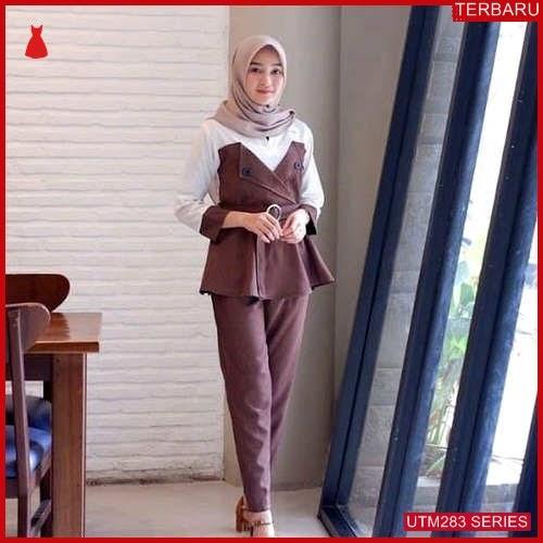 UTM283A73 Baju Anadra Muslim Set Dewasa Atasan UTM283A73 11B   Terbaru BMGShop