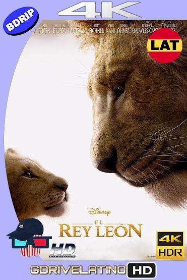 El Rey León (2019) BDRip 4K HDR Latino-Ingles MKV