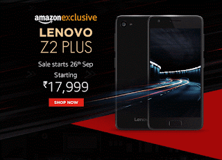 Lenovo Z2 Plus starting at 17999 now available With Exciting Launch Offers