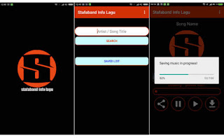 Aplikasi, Aplikasi Pengunduh music