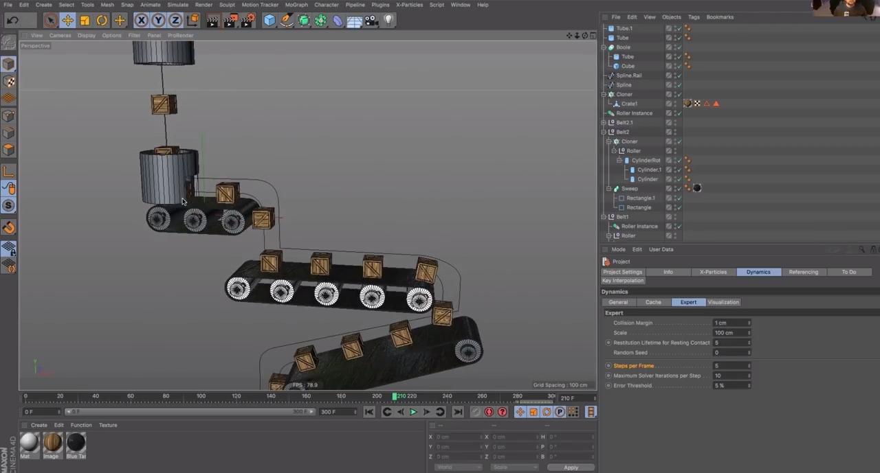 Animating a Dynamic Conveyor Belt in Cinema 4D   CG TUTORIAL