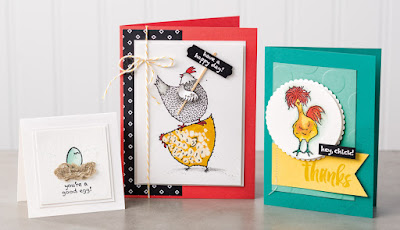 Stampin' Up! Sale-a-bration 2017: 8 Hey Chick Project Ideas #stampinup
