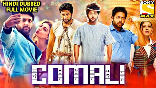 Comali 2019 Hindi Dubbed HDRip 300Mb 480p