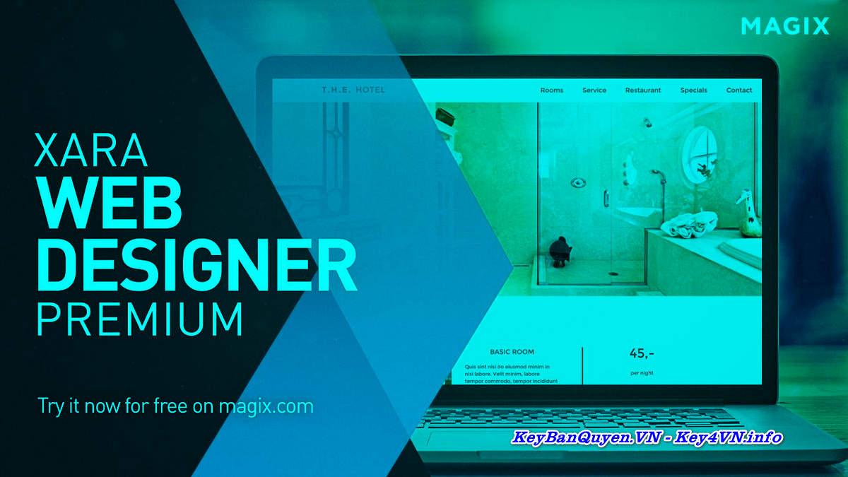 Download Xara Web Designer Premium 16.3.0.57723 Full Key Bản Quyền, Phần mềm hỗ trợ thiết kế WEB đẹp.