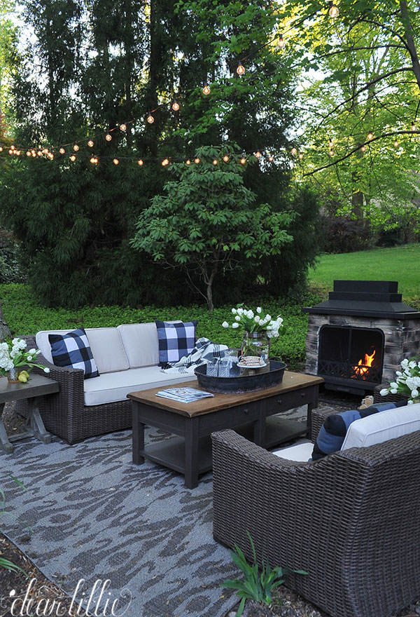 living spaces outdoor furniture summer peek at our new outdoor living space dear lillie
