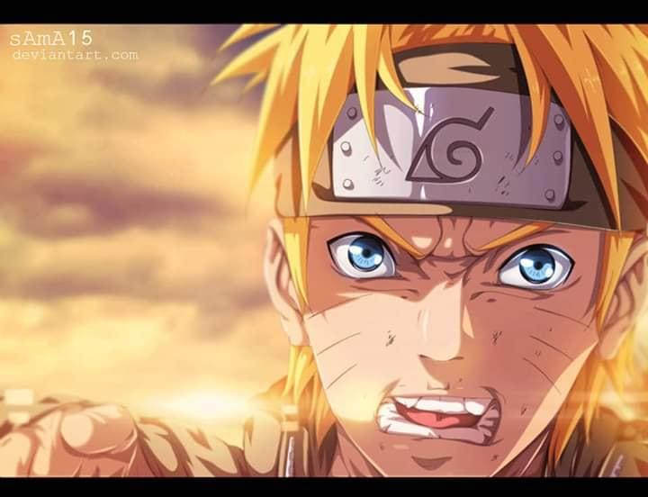 Naruto Uzumaki - FanArt - BlogFanArt