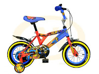 12 Inch Wimcycle Superman Kids Bike