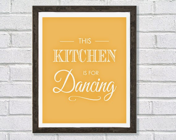 Kitchen is for dancing