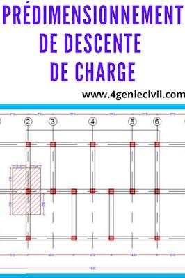 pré-dimensionnement et descente de charge pdf