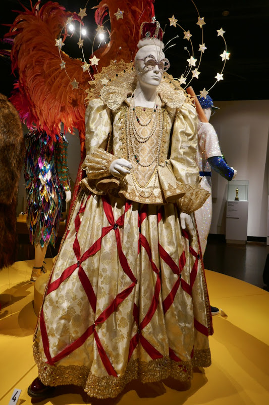 Elton John Rocketman Queen Elizabeth I movie costume