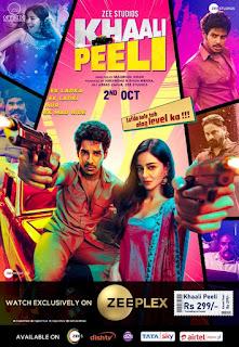 Khaali Peeli First Look Poster 1