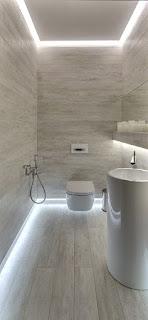 Pola pemasangan keramik kamar mandi 6