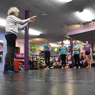 RoseAnne Reed Northwoods Dance Studio Greatmats dance flooring