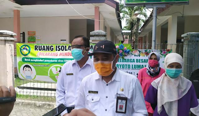 Direktur RSUD dr. Haryoto Lumajang, dr. Halimi Maksum
