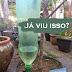 Gotejador para vasos de plantas - muito útil!