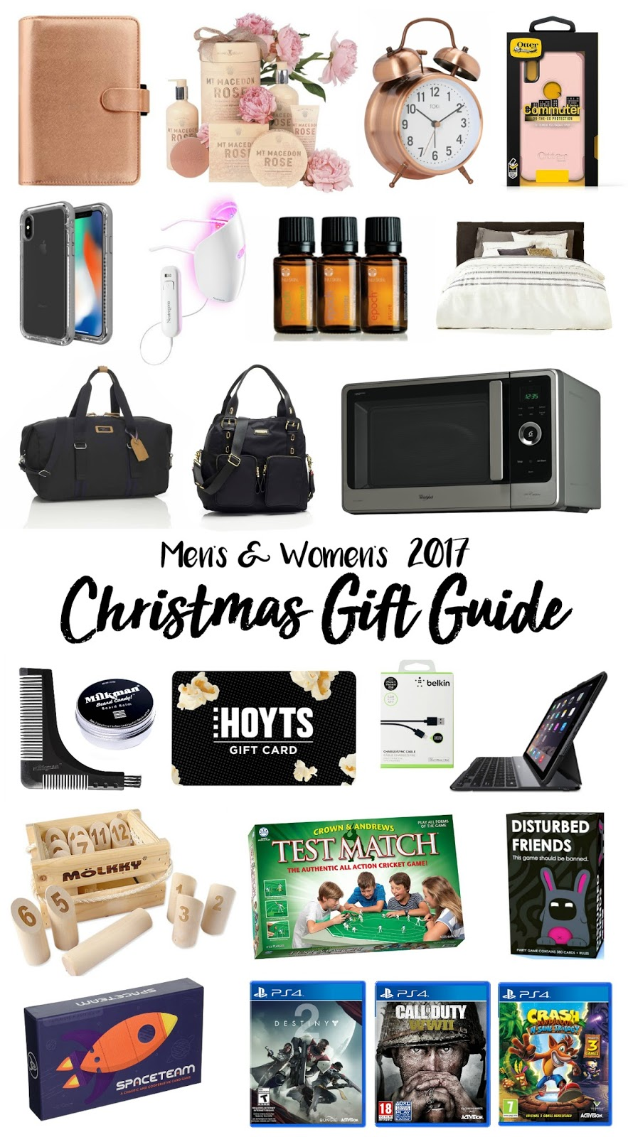Mens and Womens Christmas Gift Guide 2017 -  The Best Gift Ideas for Adults 2017