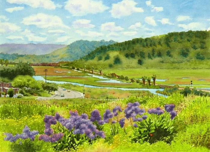 Американский художник. Mary Helmreich
