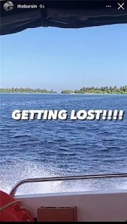 Full story - The truth behind Hande Erçel and Kerem Bursin Maldives vacation.