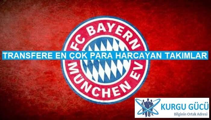 Transfere En Çok Para Harcayan Takımlar - Bayern Münih - Kurgu Gücü