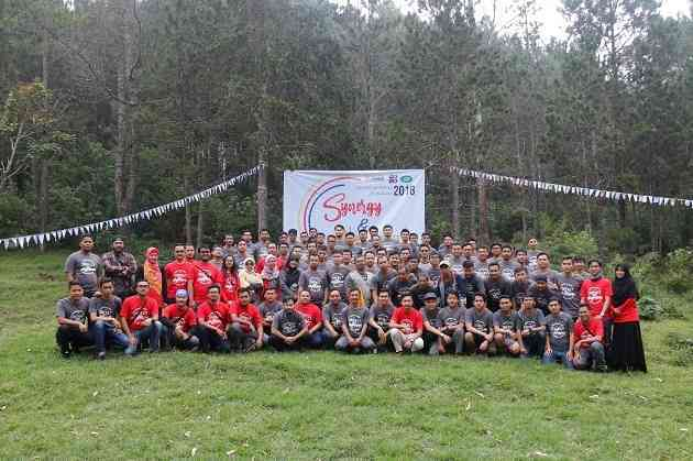 Outbound Training Program Suralaya bersama Gravity