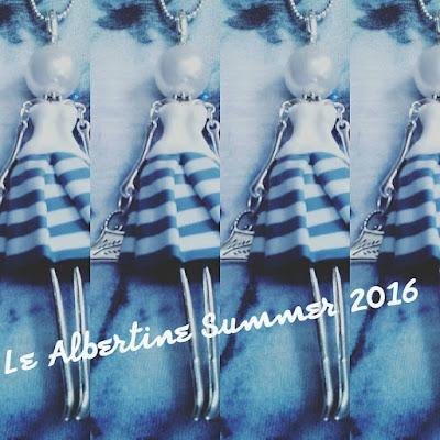 Albertine bamboline bijoux fimo