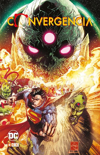 Reseña de CONVERGENCIA de DC Comics - ECC Ediciones.