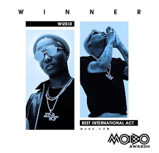 Wizkid wins MOBO Awards