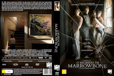 Filme O Segredo de Marrowbone DVD Capa
