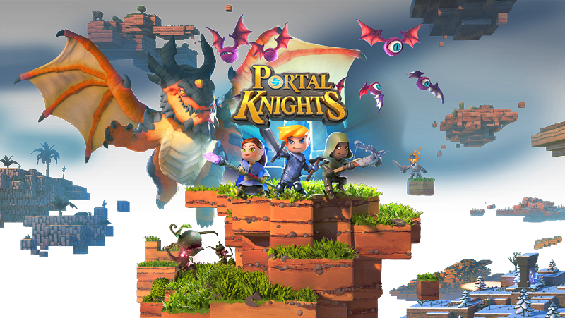 Portal Knights PC Game Free Download Poster