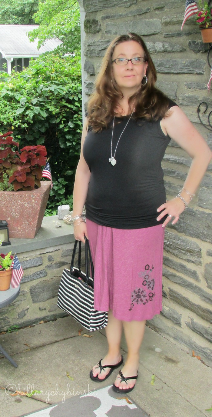 Aventura Embroidered Skirt and Sleeveless Top