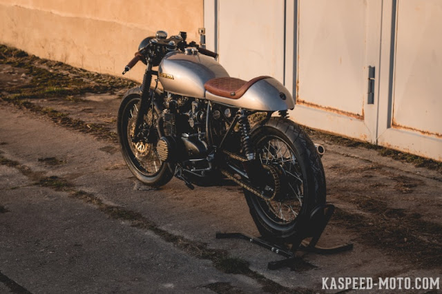 Honda CB500 By Kaspeed Custom Motorcycles Hell Kustom