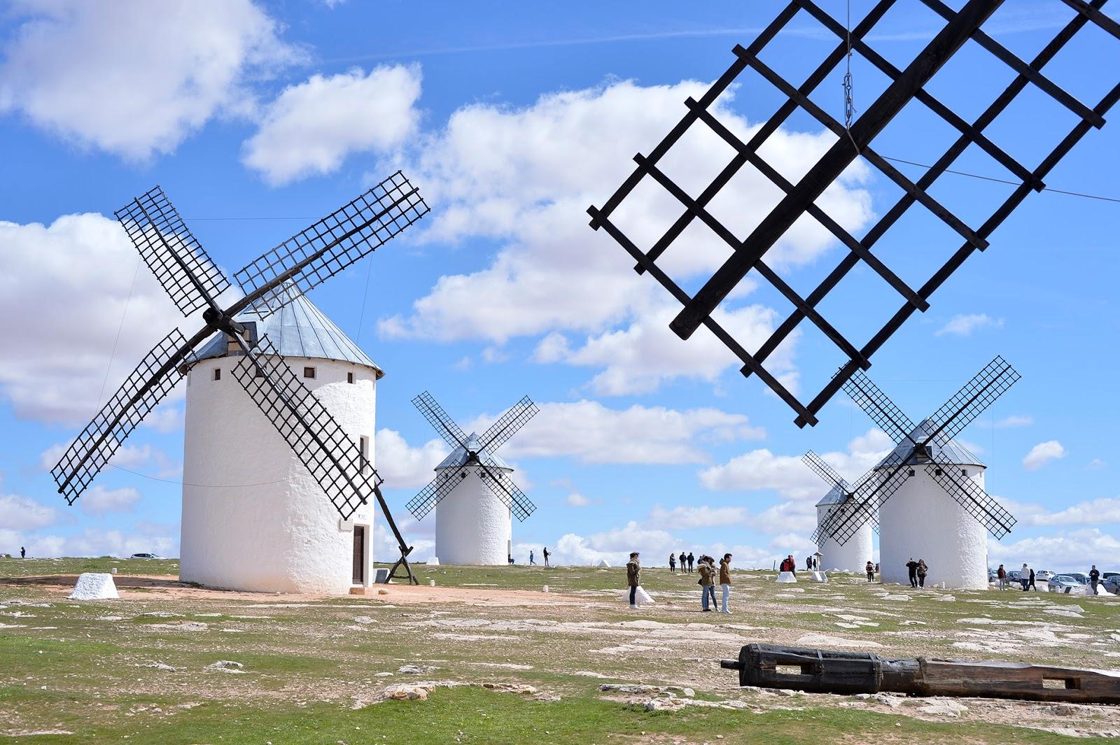 campo criptana molinos windmills