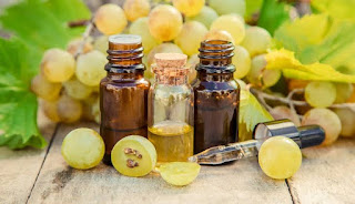 oil for hair growth and hair fall is Grapeseed oil