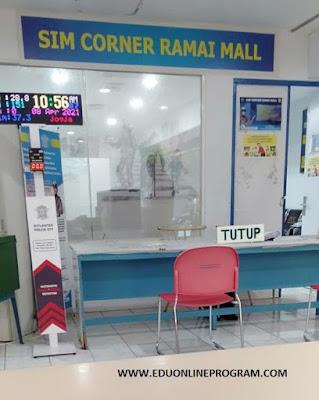 Cara Perpanjangan SIM di SIM Corner Ramai Mall Yogyakarta
