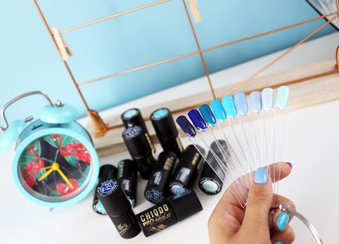 Niebieskie lakiery hybrydowe - idealne na lato i nie tylko. ChiodoPRO Sun&Sea.