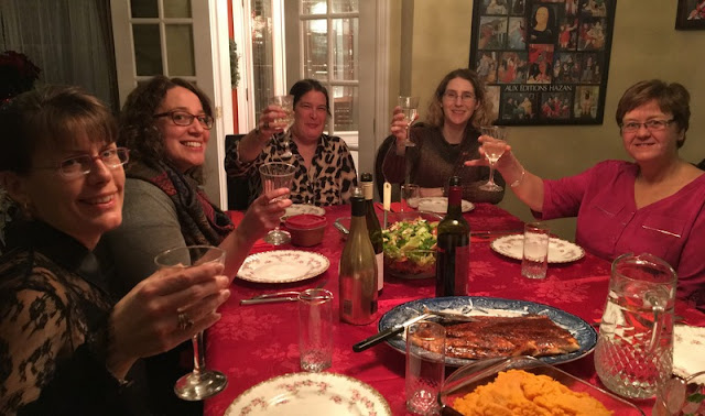 Girls' dress up night. Dinner for eight. Barrhaven, Ontario