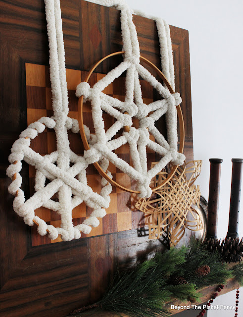 Easy DIY Boho Snowflakes