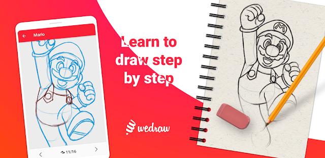 WeDraw - How to Draw Anime & Cartoon