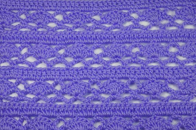 2 - Crochet Imagen Puntada combinada para jerseys a crochet y ganchillo por Majovel Crochet