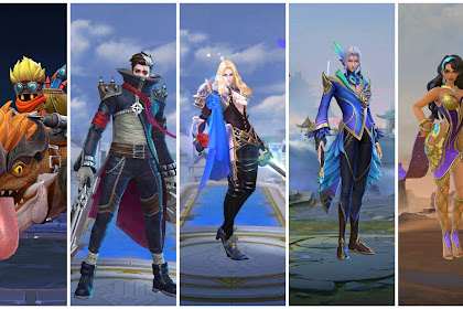 5 Hero Mobile Legends Terkuat yang di sarankan saat Push rank