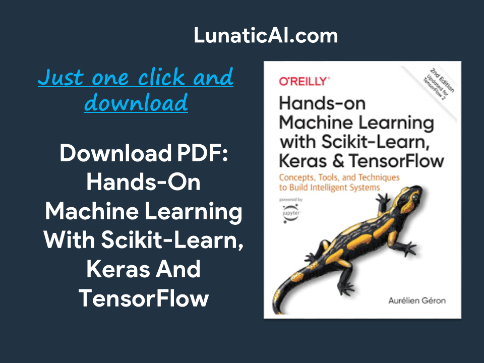 Hands-On Machine Learning with Scikit-Learn, Keras and TensorFlow PDF