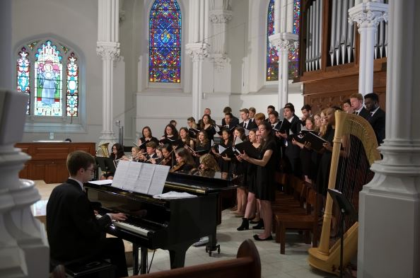 Be organized. Send notes of appreciation to your choir members occasionally. Study voice and vocal technique.