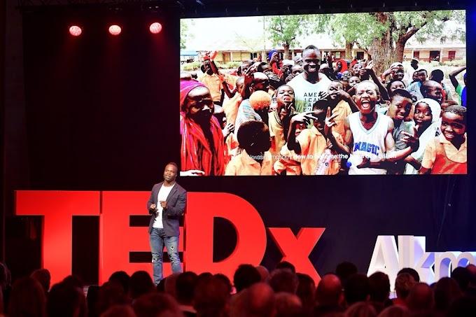 Ghanaian Winter Olympian Akwasi Frimpong Speaks At TEDx Alkmaar In The Netherlands