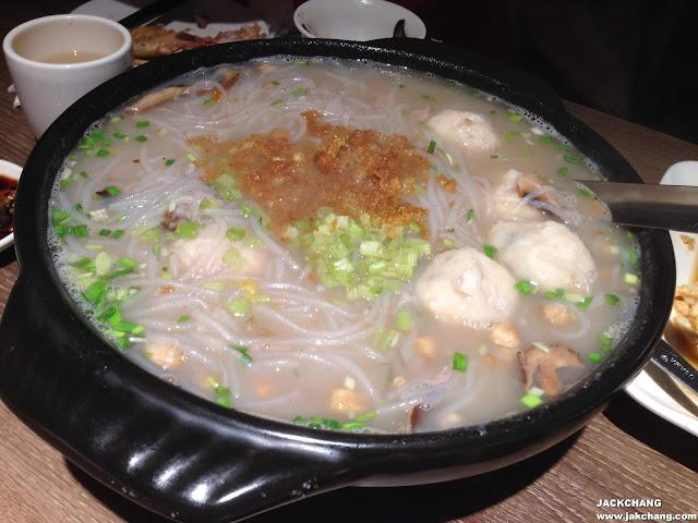 Swordfish Taro Rice Noodles