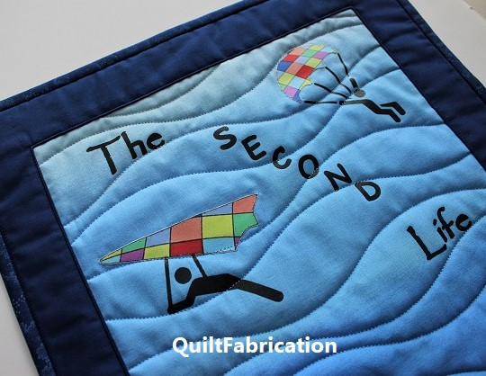 The Second Life of Quilts top portion by QuiltFabrication