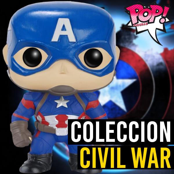 Figuras Funko Pop Lista Y: Funko POP Capitán América: Civil War
